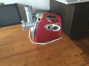 Almost brand new electric meat grinder