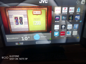"""32"""" JVC LED smart with remote control"""