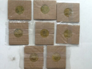 2002 coca-cola Canadian Olympic team 8 coin lot