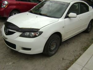 !!! 07 MAZDA3 FOR PARTS, ALL PARTS AVAILABLE !!!