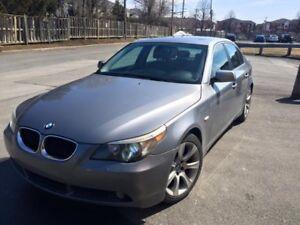 BMW 530i 2004 192Km MecanicA1 Full Equip 5200$ 438-395-1702Jean