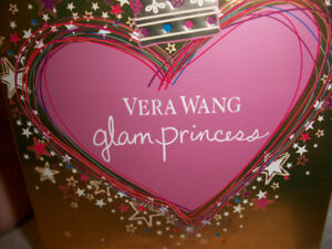 "Vera Wang glam princess ""eau de toilette"" perfume, new."