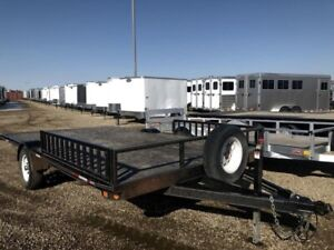 2009 Double A Trailers MD38-14