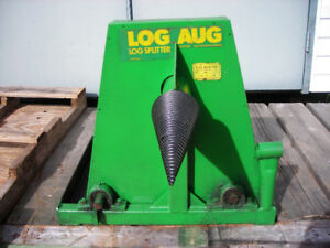 Auger log splitter for sale