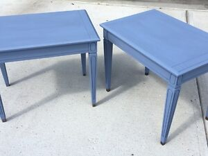 Matching end tables/night stands