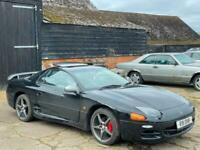 1997 [R] MITSUBISHI 3000 GT GTO 3.0 TWIN TURBO MANUAL BLACK SPARES OR REPAIRS