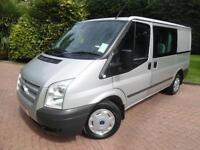 2013/63 Ford Transit T260 2.2TDCi 125PS SWB LOW ROOF 6 SEAT CREW VAN