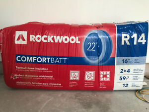Rockwool R14 Bat insulation - Full Bag