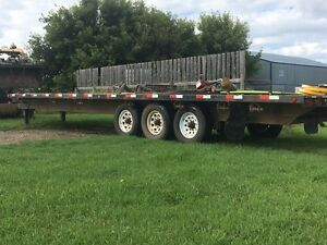 Pintle hitch trailer for sale
