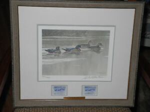 Robert Bateman – Hurricane Lack – Wood Ducks Ltd Ed Print