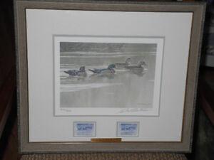Robert Bateman – Hurricane Lack – Wood Ducks Ltd Ed Print