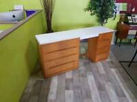 20% OFF SALE NOW ON!! Desk With Drawers - Can Deliver For £19