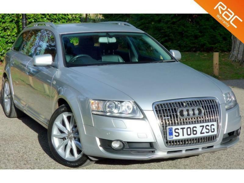 2006 06 audi a6 3 0 allroad tdi quattro tdv 5d auto 229 bhp diesel high spec in bournemouth. Black Bedroom Furniture Sets. Home Design Ideas