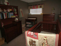 Baby Nursery, toddler bed & two 3-1 car seats for Sale