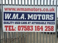 Used car sales 50 cars on site from £300-£4000 open All weekend
