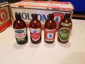 4 Bouteilles de biere style biberon  (1970')