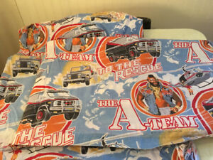 A-Team Twin Sheets and Mr. T!