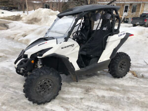 2017 can am maverick 1000r xc dps with warranty and a lot of ext