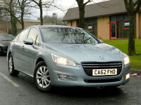 2013 62 Peugeot 508 1.6 HDi FAP SR 4dr WITH FSH+SATNAV+BLUETOOTH+MORE