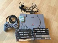 PlayStation 1 & 10 games