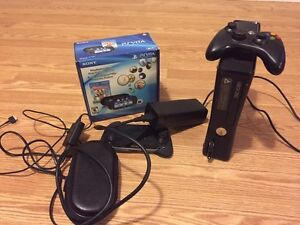 Xbox 360 and ps vita in good condition!
