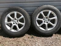 Rims, Alloy Sports Edition on 4 Bridgestone Tires 225/65R 17 inc