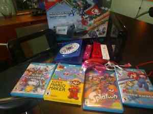 Large wii u bundle for sale or trade for xbox one