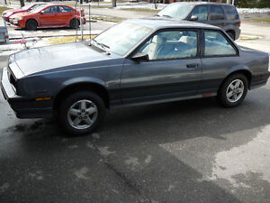 1986 Chevrolet Cavalier Z24 **Rolling Chassis***