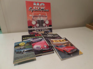 MG Sports Car Books
