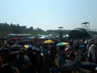 Folk Festival Turned Wet