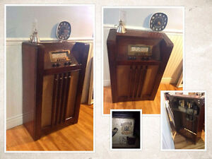 Meuble Radio antique Philco #1037