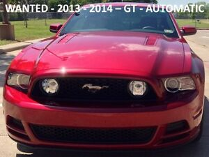 LOOKING FOR A CLEAN 2013 OR 2014 GT - AUTOMATIC