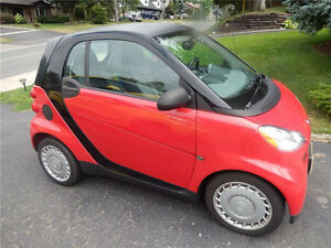 Be smart and get an easy-to-park, low-on-gas Smart car!
