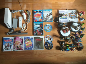 Nintendo WII and WII U Games and Console