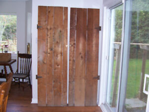 Antique Pantry Doors 80 by 23.5    $75 EACH