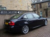 "08 08 BMW 318i 2.0 M-SPORT INDIVIDUAL EDN 4DR SATNAV HEATED LEATHER 18"" ALLOYS"