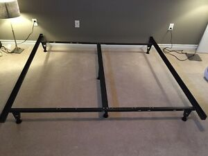 King and Twin metal bed frame for sale!!!
