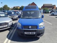 2006 06 FIAT DOBLO 1.9D MULTIJET 120 ACTIVE WITH WHEEL CHAIR ACCESS.FULL SH