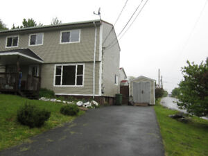 Great 3 bedroom Dartmouth Semi across from the lake