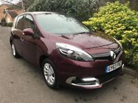 RENAULT SCENIC DYNAMIQUE TOMTOM ENERGY DCI S-S 2013 Diesel Manual in Red