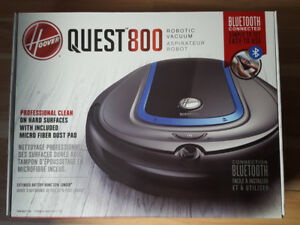 Hoover® Quest™800 Robot Vacuum  Bluetooth enabled Quest