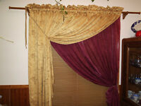 CUSTOM SEWING FOR CURTAINS, TABLE LINENS, MORE