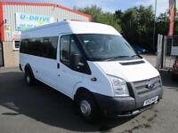 2012 FORD TRANSIT MINIBUS LWB 17 Seat 135ps