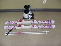 Junior skis,poles and Boots