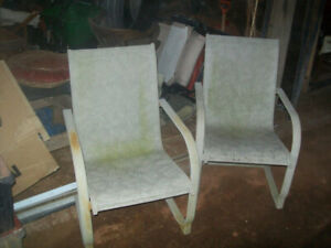 2 Lawn Chairs