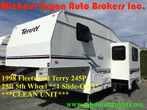 1998 FLEETWOOD TERRY 245P - 25' 5TH WHL *1 SLIDE* GREAT PRICE***