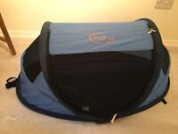 NScessity pop up travel cot / tent