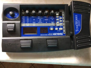 Korg ToneWorks AX100G Guitar Effects Pedal