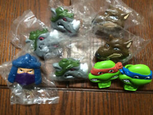 Lot of TMNT Teenage Mutant Ninja Turtle RETRO Rings