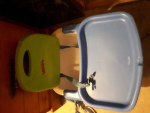 Booster seat for easier feedings Very clean from smoke free